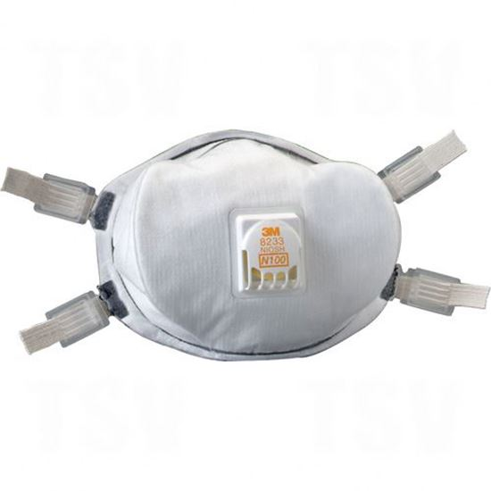 Image sur Respirateur N100 8233 contre les particules
