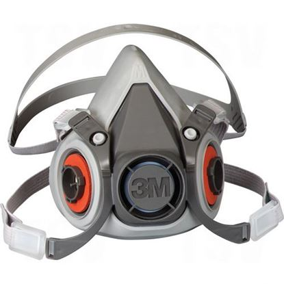 Image de Respirateurs à demi-masque série 6000 à faible entretien