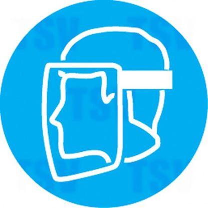 Image de Étiquettes avec pictogramme Right to Know - Visière