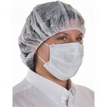 Image de Masque jetable avec fixation aux oreilles, vendu 50 par boîte