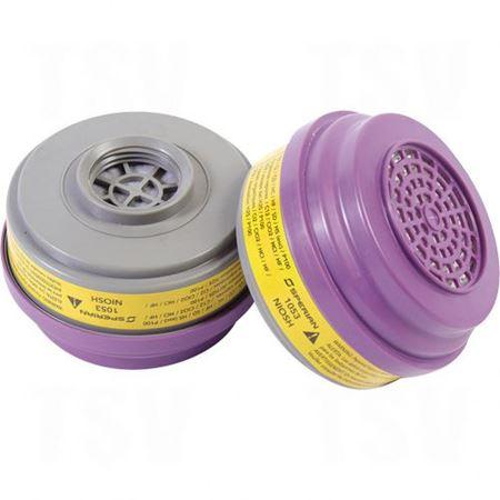 Image de la catégorie Cartouches pour respirateurs à purification d'air