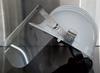 Image sur Visière avec fixation pour casque VPGF30B