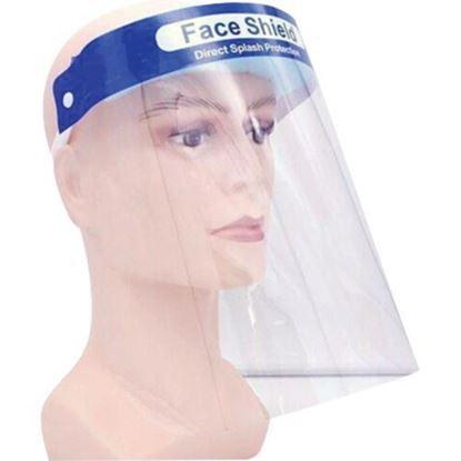 Image de Visière transparente avec harnais de tête
